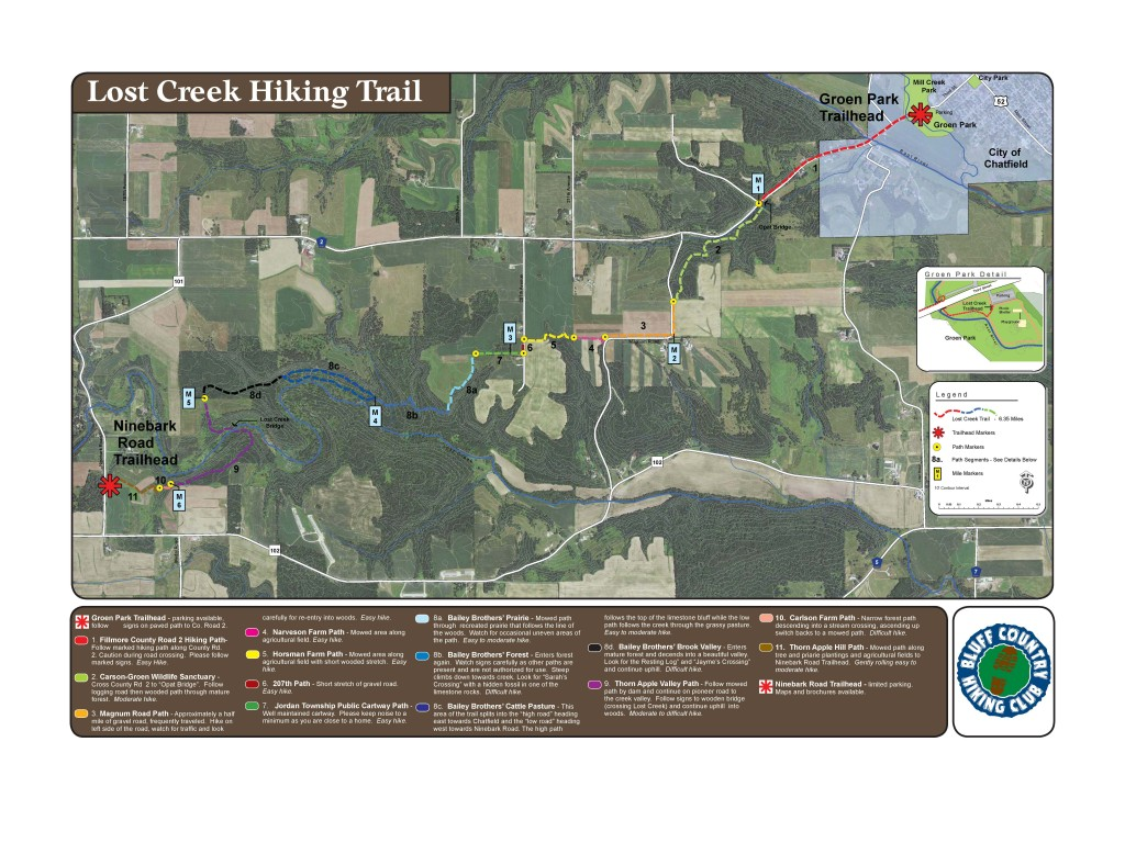 Lost Creek Hiking Trail map jpg